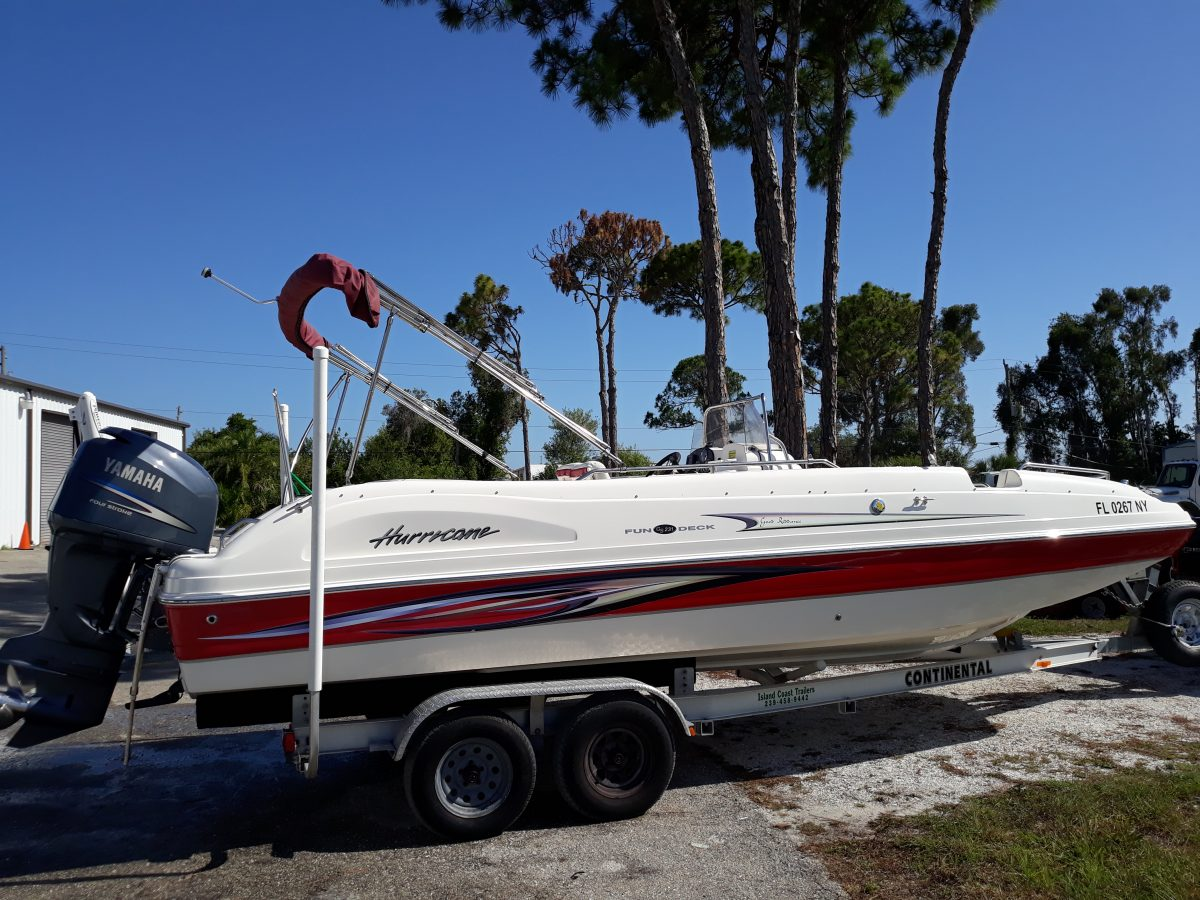 2009 Hurricane Fun Deck 231