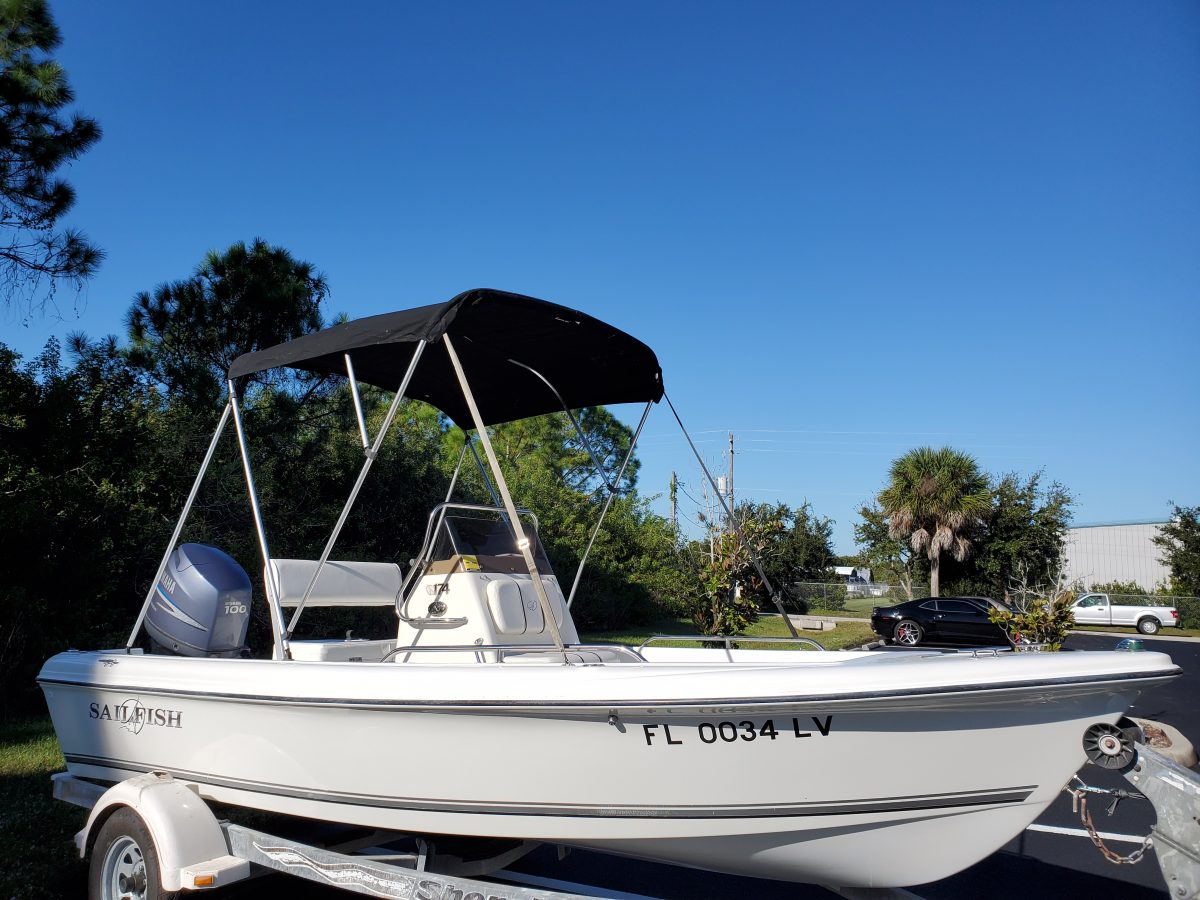2002 Sailfish 174 CC