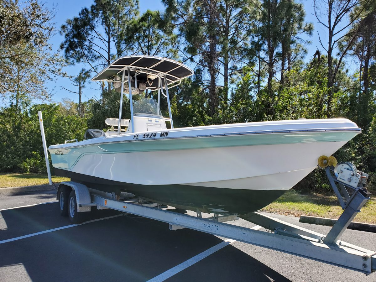 2004 Sea Fox 245 Bay Fisher